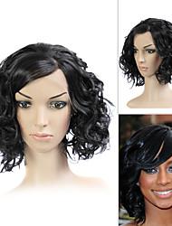 llena del cordón (cordón francés) peluca 100% humano remy del pelo Keri Hilson el pelo al estilo