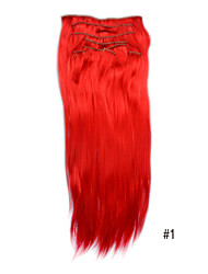 20-дюймовый синтетический зажим для увеличения объема волос (10 цветов в наличие)