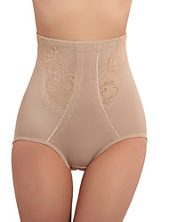 High Waist Patterned Cotton Shaping Panty Sexy Lingerie Shaper