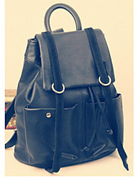 Leather Travelling Backpack