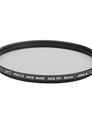 Genuine JYC Super Slim High Performance Wide Band ND2 Filter 62mm