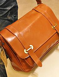 Basic Box Design Cross-body Bag