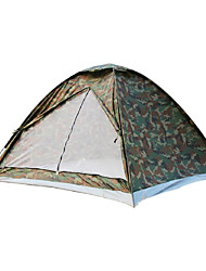 Outdoor Camouflage One Room Tent for 3-4 Persons