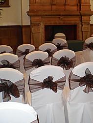 Organza Decorações do casamento-6Piece / Set Primavera Verão Outono Inverno