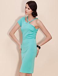 TS Shoulder Sling Jersey Dress