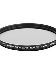 Genuine JYC Super Slim High Performance Wide Band ND2 Filter 55mm