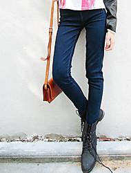 Basic Skinny Pencil Jeans