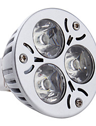 GU5.3(MR16) Focos LED MR16 3 LED de Alta Potencia 270 lm Blanco Natural DC 12 V