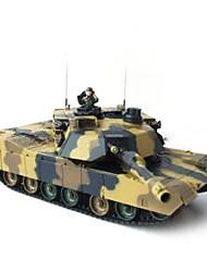 1/24 de rádio controle remoto a5 batalha militar rtr tanque (yx00526)