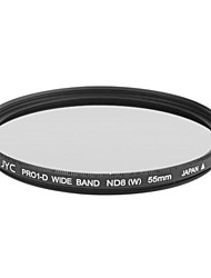 Genuine JYC Super Slim High Performance Wide Band ND8 Filter 55mm