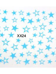 nail art 3d autocollant d 'ongle de conception (6 pcs)