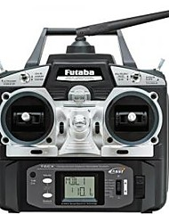 Futaba 6EX 2.4GHZ 6CH Transmitter System For Both Airplane And Helicopter (TX + RX Only)(6EX)