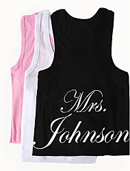 "Personalized ""Mrs."" Vest (More Colors)"
