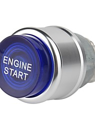 Blue Light Push Start Ignition Switch OFF-(ON)