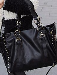 Nail Black Cross-body Bag(39cm*11cm*27cm)