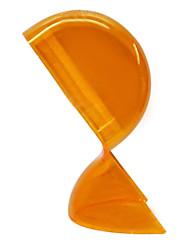 lampe de table avec 1 lumière en orange