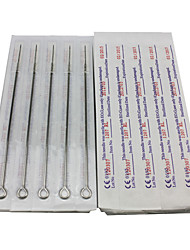 50PCS Sterile Stainless Steel Tattoo Needles 25 7RL 25 9RL