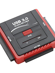 "привет-Speed ​​USB 3.0, SATA и IDE 2,5 ""и 3,5"" дисков адаптер"