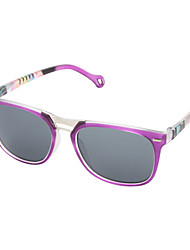 Funky Frame lila Sonnenbrille mit UV400-Tragtasche