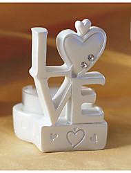 design titolare amore candela favori