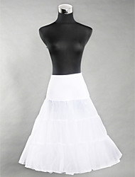 Lycra Half Slip Knee-Length Women Wedding Petticoats