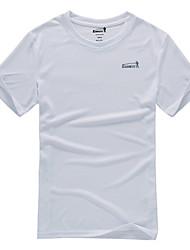 Extérieur Homme T-shirt Camping & Randonnée / Pêche / Escalade / Sport de détente Perméabilité à l'humidité / Séchage rapidePrintemps /