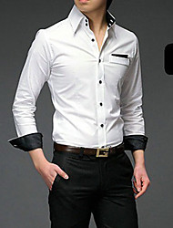 Fashion Men's Long Sleeve Shirt