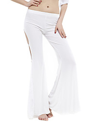 Dancewear Crystal Cotton With Lace Pant for Ladies More Colors
