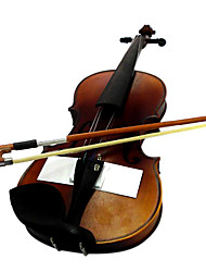 Satin Solid Spruce Violin with Case/Bow/Rosin (Multi-Size)