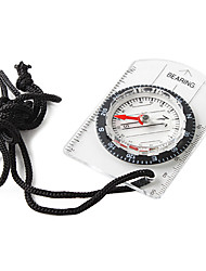 Compasses Directional / Compact Size / Durable Hiking / Camping / Outdoor Plastic Transparent