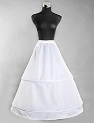 Nylon Ballkleid slipfloor Länge Frauen Hochzeit Unterröcke
