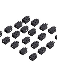 DC-023B 1.65mm Inner Diameter DC Jack Connector (20 Pieces a pack)