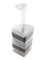 aquário filtro de canto, (até 27 centímetros de altura)