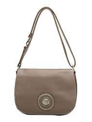 PU Magnet Closure Cross-body Bag(29cm*23cm*10cm)