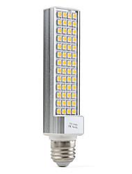 E26/E27 10 W 60 SMD 5050 600 LM Warm White Corn Bulbs AC 100-240 V