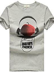 Headphone Apple Men's Casual T-Shirt
