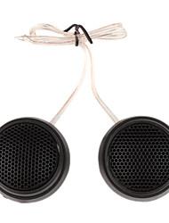1000W Plastic Speaker for Car Stereo Audio System, Black (Pair)