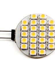1W G4 LED Spot Lampen 24 SMD 3528 50 lm Warmes Weiß DC 12 V