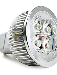 5W GU5.3(MR16) LED Spotlight MR16 4 High Power LED 360 lm Natural White DC 12 V