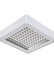 8w modernos de vidro lideradas descarga luzes de montagem de forma quadrada