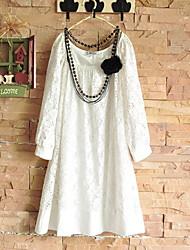 Princess Round Neck Loose Dress
