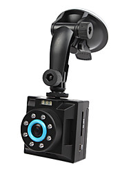 HD1280x720 2.5 Inch Display Car DVR with Night Vision, Motion Detection