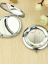 Personalized Make Up Compact - Lovers (More Colors)