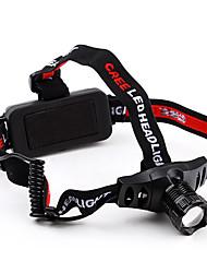 3-режим масштабирования Cree XR-E Q5 светодиодные фары и 18650 аккумулятор и зарядное устройство (280LM)