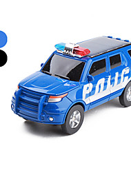 Mini Solar Police Car Kit (Assorted Colors)