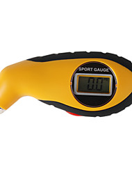 Digital Car Tyre Pressure Meter - Yellow