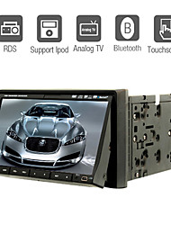 "7 ""2 din lcd touch screen auto lettore dvd nel cruscotto con bluetooth, RDS, ipod-input, atv"