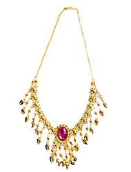 Dancewear Metal Performance Belly Dance Necklace For Ladies