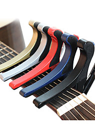 Beautiful Acoustic Guitar Capo in Colors with 2 picks