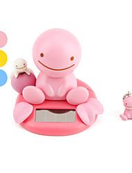 solaire jouet motorisé visage souriant un signe de tête (couleurs assorties)